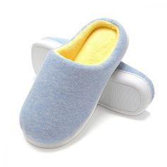 04b4f51e60c FLY HAWK Women s Memory Foam Plush House Slippers Two-Tone Slip On...   fashion  clothing  shoes  accessories  womensshoes  slippers (ebay link)