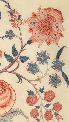 :: reDTree :: Textile Prints, Textile Patterns, Textile Design, Print Patterns, Pattern Texture, Surface Pattern Design, Floral Motif, Floral Prints, Jacobean Embroidery
