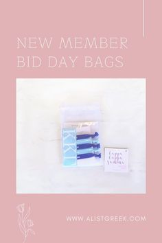 Celebrate your new members this recruitment with the Newbie Love bundle! Gift bag includes a sorority decal, hair tie set, and button set. Kappa Kappa Gamma Gift Bags | Kappa Kappa Gamma Bid Day | KKG New Member Gifts | Kappa Kappa Gamma Recruitment | Sorority Bid Day | Sorority Recruitment | Bid Day Bags | Sorority New Member Gift Ideas #BidDayGifts #SororityRecruitment Omega Alpha, Alpha Epsilon Phi, Phi Sigma Sigma, Kappa Kappa Gamma, Alpha Sigma Alpha, Sorority Bid Day, Sorority Recruitment, Bid Day Gifts, Elastic Hair Ties