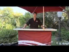 Portable Outdoor Bar   Backyard Tailgating Bar