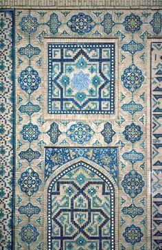 Pattern in Islamic Art - Shirdar Madrassa (Registan complex)