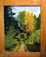 Gallery.ru / Фото #68 - TAPICES - griega Loom Weaving, Tapestry Weaving, Hand Weaving, Diy Finger Knitting, Modern Tapestries, Moss Art, Textiles, Weaving Projects, Yarn Shop