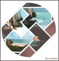 Gabarit Caraibes - Blog de Be Creativa