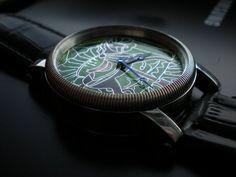 Enamel dial watch - LK