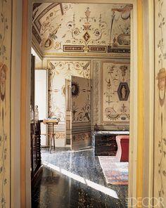 15th century Tuscan Villa of Leonardo and Beatrice Ferragamo
