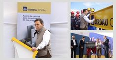 Inaugura el Secretario de Economía la Planta Gerdau Corsa Sahagún