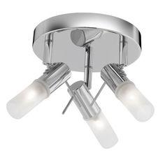 Koupelnové svítidlo SL 7213CC, stropní svítidlo. #svitidlo #koupelna #osvetleni #light #bathroom #ceiling #searchlight