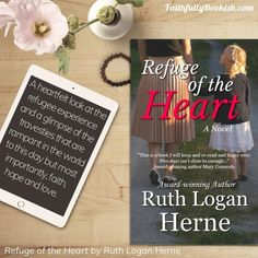 Refuge of the Heart by Ruth Logan Herne re-release + Tour Wide Giveaway (prize pack from Ruth Logan Herne!) https://amzn.to/2IXPfcA  To…