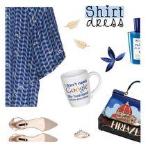 """""""Get shirty"""" by molly2222 ❤ liked on Polyvore featuring Alena Akhmadullina, Dolce&Gabbana, Allurez, Acqua di Parma, Jennifer Meyer Jewelry and shirtdress"""