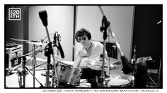 Photo 169 of 365  Zac Hanson 2010 - Playing drums, Shout It Out Sessions, Sunset Sound Studios - Los Angeles CA	    In this shot Zac is at the drums between drum takes. Give us a caption for what Zac is thinking.    #Hanson #Hanson20th