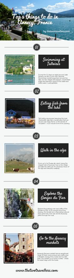 Top things to do at Lake Annecy France