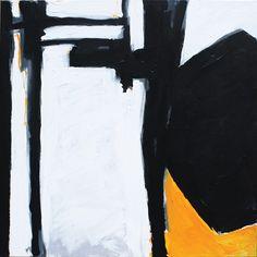 """Jacek Mirczak """"Dzień powrotu"""" / """"Day of return"""" - 2014. Acrylic on canvas 100 x 100 cm"""