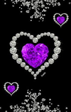 Photo Background Images, Photo Backgrounds, Wallpaper Backgrounds, Heart Wallpaper, Love Wallpaper, All Heart, Blue Green, Purple, Elsa Frozen