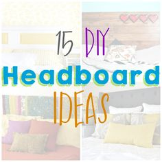 15 DIY Headboard Ide