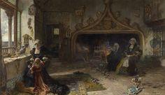 Juana la Loca recluída en Tordesillas Francisco Pradilla Museo del Prado Fuera de exposición