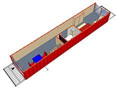 Container-boende för studenter, finns bland annat i Amsterdam.