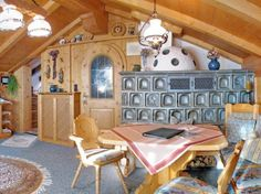 Simply Home, Rustic Room, Living Styles, Bavaria, Edelweiss, Dining Table, Indoor, Mirror, Architecture