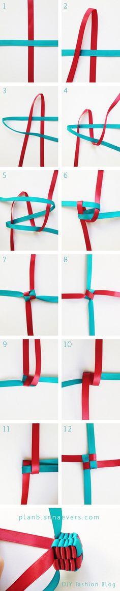 Cube Braid Necklace