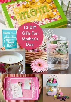 I love my mom, but she's hard to shop for - however, she does love DIY Mother's Day gifts! if you are in the same boat, check out these 12 project ideas.