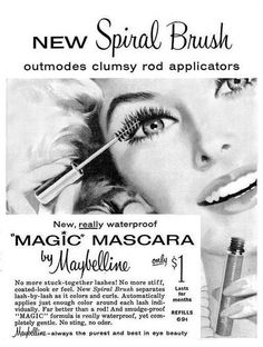 Maybelline Magic Mascara - lasts for months, only a dollar!