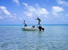 Bonefishing in Aitutaki