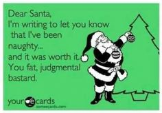 Yup. No presents for me this year.