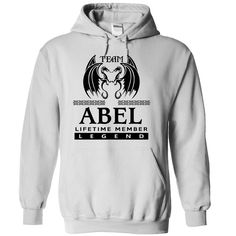 "TO1104 Team ABEL ᗗ Lifetime Member LegendIf you dont like this shirt, no problem, you can search another shirt at ""SEARCH BOX"" on the TOPshirt, legend"