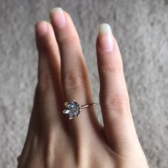 Unique Opal Ring, Custom Uncut Opal Engagement Ring, Lotus Flower Ring in Rose Gold, Raw Rough Fire Opal Jewelry for Women, Birthstone Rings Engagement Ring Settings, Vintage Engagement Rings, Etsy Vintage, Herkimer Diamond, Raw Diamond, White Gold Diamonds, Rose Gold, Diamond Wedding Rings, Opal Rings