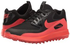 sports shoes 39710 2514f SEE IT - Nike Golf Air Zoom 90 IT (Black Black Max Orange) Men s Golf Shoes  Take pro-golfer Rory McIlroy s favorite pair of Nike Air Max 90 and bring  them ...