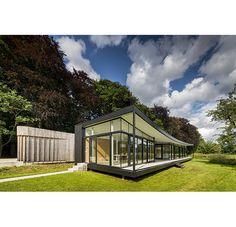 Villa bij Vriezenhuis in het Woold, gem. Winterswijk | Architectenbureau Vincenth Schreurs