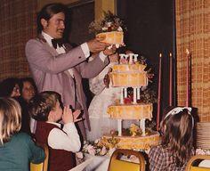 Steve & Moria's wedding cake.