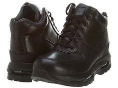 Nike Air Max Goadome 2013 Mens 599474-050 Black Acg Boots Shoes Size 11.5