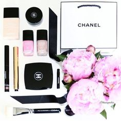 Chanel makeup. #chanel
