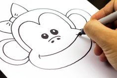 art-for-kids-draw-a-monkey