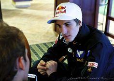 Zdjęcie z wywiadu z Gregorem Schlierenzauerem