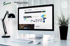 Web design for Ingenieria Automotriz del Norte - Saltillo, Coahuila.  www.iansamex.com.mx  #engineering #autos #industry #Saltillo #mexico #website #webdesign