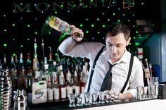 At the new Monsanto headquarters bar, RoundUp is served straight up and in artisan mixed drinks.