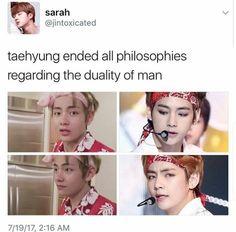Taehyung's duality