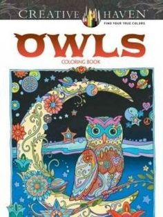 Coloring Books For Adults Grown Ups Creative Haven Owls Relieving Stress Relax