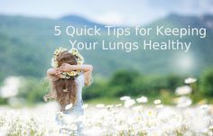 Keep Your Lungs Healthy | 5 Easy Tips #1 Consume lots of fruits and vegetables. Vitamin E is especially effective. #2 Drink plenty of water. Enough fluids will improve lung function. #3 Do some deep breathing drills throughout the day. Breath deeply and slowly through your nose. Hold your breath for a few seconds and then exhale through your mouth. Repeat. #4 Do exercise like swimming or walking to clear your lungs.  #5 Use a high quality air purifier to remove dust and contaminants.