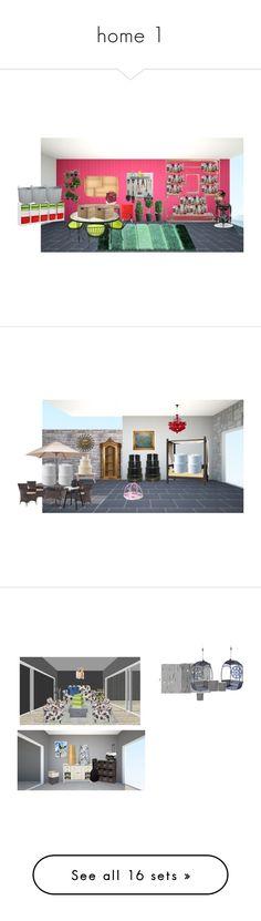 """home 1"" by paradapermitida on Polyvore featuring interior, interiors, interior design, casa, home decor, interior decorating, Rega, Retrò, Home Decorators Collection e Woodard"