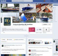 Erstellung einer Facebook-Fanpage (mit rechtssicherem Impressum) und Facebook-Schulung für die Mitarbeiter von Fricke & Dannhus HD-Yachtbau.