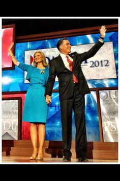 Mitt and Ann Romney! Love them.