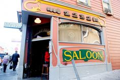 The Saloon, 1232 Grant Avenue (between Broadway and Fresno streets)