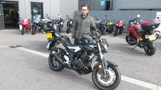 Enjoy your awesome MT03 Harry and thanks again from all the team at SMC Bikes    #Yamaha #MT03