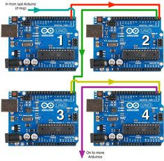 How-To: Daisy Chain Arduinos via Serial