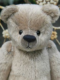 Frederick jointed teddy bear sewing pattern DOWNLOAD by Barbara-Ann Bears to make a traditional, centre seam bear by BarbaraAnnBears on Etsy https://www.etsy.com/listing/193553952/frederick-jointed-teddy-bear-sewing