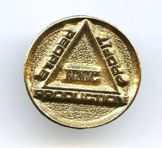 Vtg NNIC Nimbin Neighborhood Profit Campaign People Production Badge Pin TieTack
