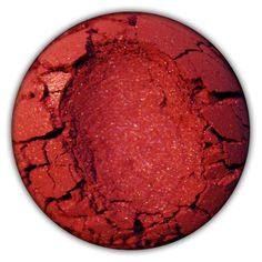 Concrete Minerals Eyeshadow in Hearts $7 - deep shimmery red | Mica, titanium dioxide, iron oxide, tin oxide, boron nitride