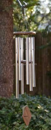 Peaceful Melody 37-inch Chime  Nice mid-sized chime; Silver makes it a classic!